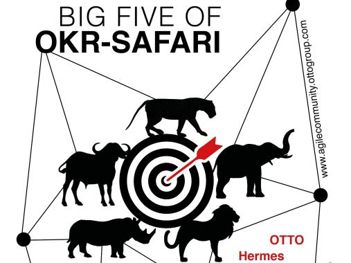 #agileGroupie OKR Lodge: Big five of OKR Otto Group Safari