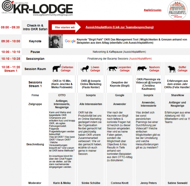 OKR Lodge Session Plan Teil 1